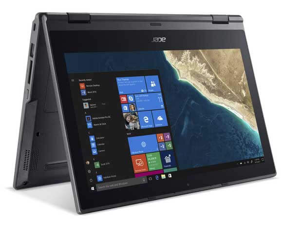 Acer TravelMate Spin B1 TM B118 win10 wp 04