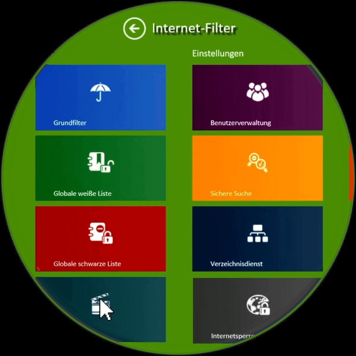 circle internetfilter