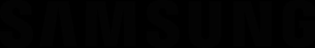 Samsung Orig Wordmark BLACK RGB