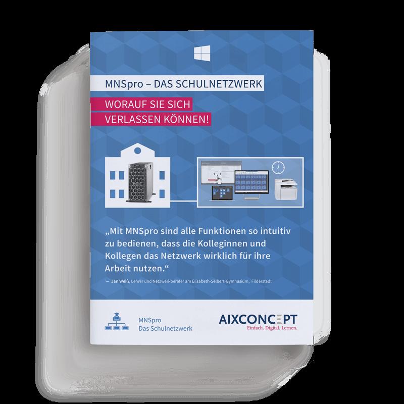 Mockup Broschuere MNSpro Classic