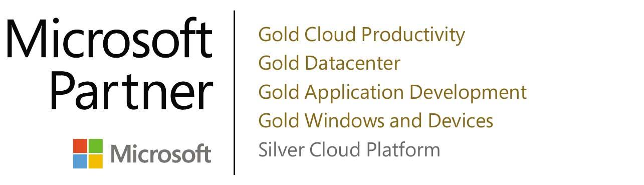 microsoft partner logo gold